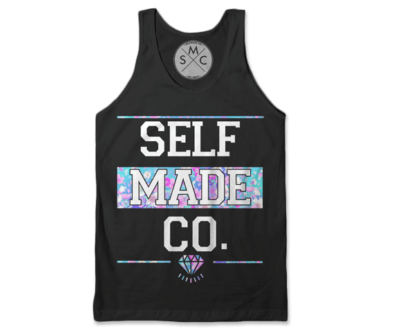 Self Made - Floral Tank