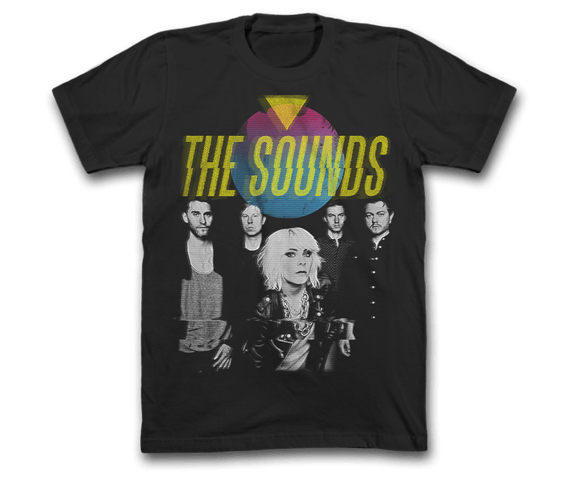 The Sounds - Photo Glitch Tee