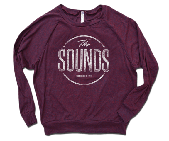The Sounds - Distressed Circle Raglan