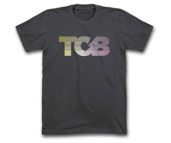 TCB Courier - Racing Stripes Tee