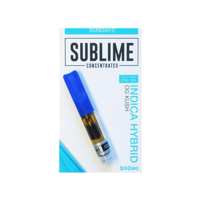 Sublime Cartridge OG Kush (500Mg)-H
