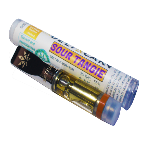 DeltaCann Cartridge Sour Tangie-500MG-S (3 Cart)