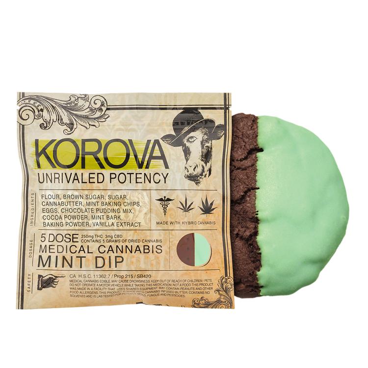 Korova Mint Dip Cookie 5x (250 Mg)