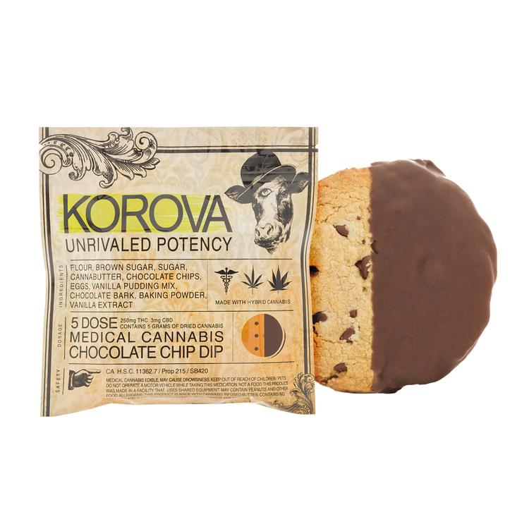 Korova Chocolate Chip Dip Cookie 5x (250 Mg)