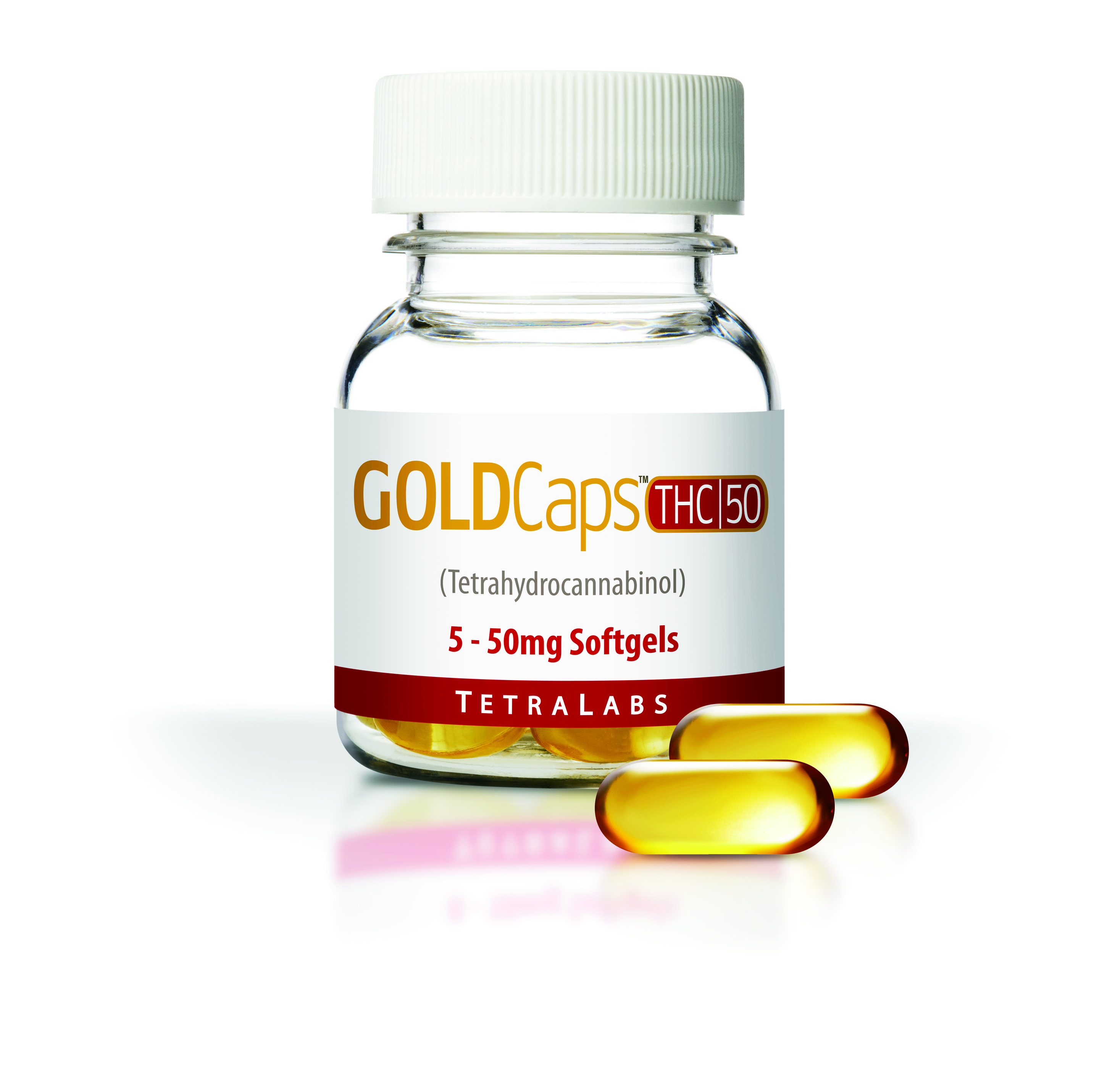 GoldCaps THC (50Mg X 5)