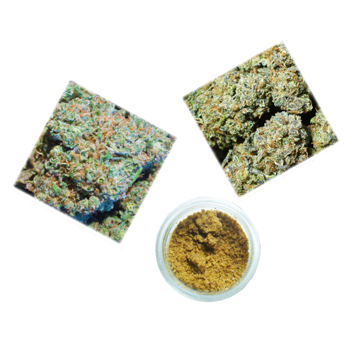 House 1/4 OZ Top Shelf + 1gr Hash Special $110