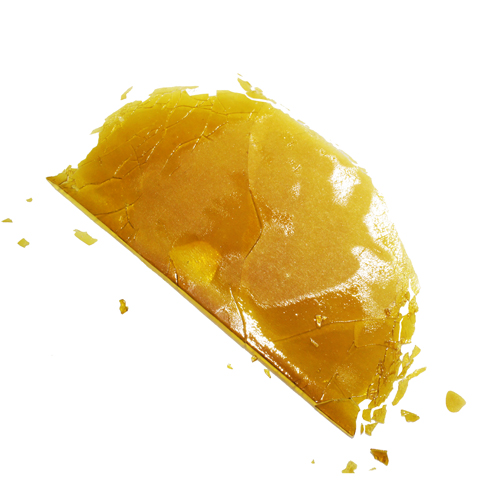 FireWater Lemon Jilly Rosin Shatter (.5gr)