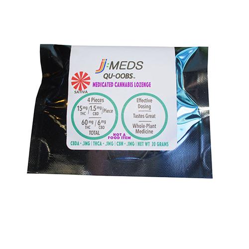 Qu-Oobs Sativa Lozenge (60 Mg THC) [ao3]