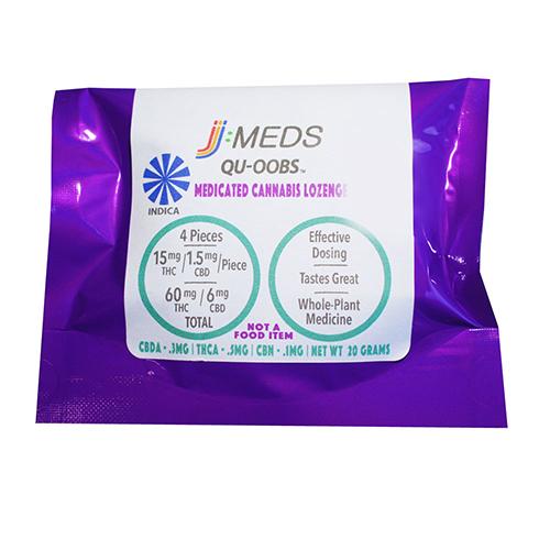 Qu-Oobs Indica Lozenge (60Mg THC) [ao3]
