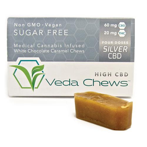 Veda Chews Silver CBD (CBD 60MG : THC 20MG)