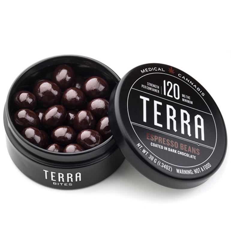 KIVA Terra Espresso Bites (120Mg THC)