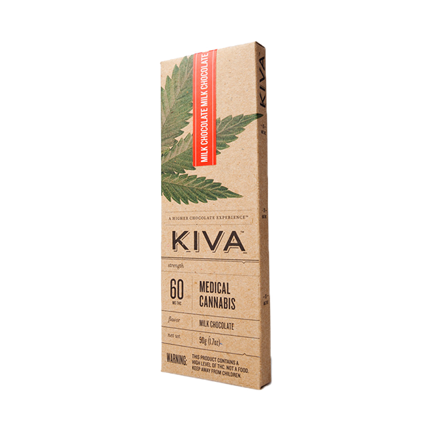 KIVA Milk Chocolate Bar (60 Mg)[ao1]