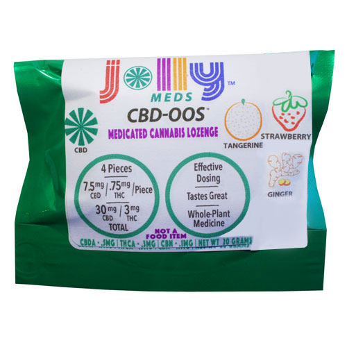 CBD-OOS High CBD Lozenge (30Mg CBD) [ao3]