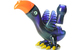 RJ Glass Blue Bird Oil Rig 14mm