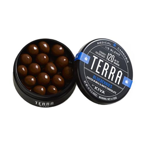 KIVA Terra Blueberry Bites (120Mg THC)
