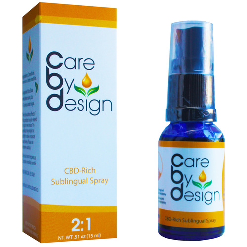 CBD Spray (2:1 CBD:THC) 15ml