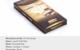 Liquid Gold Cookies & Cream Chocolate Bar 210mg