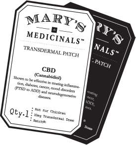 Transdermal Patch CBD (10Mg)