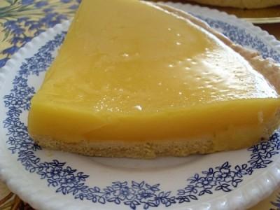 Tarte vegan au citron