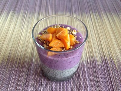 Chia pudding (super antioxydant)