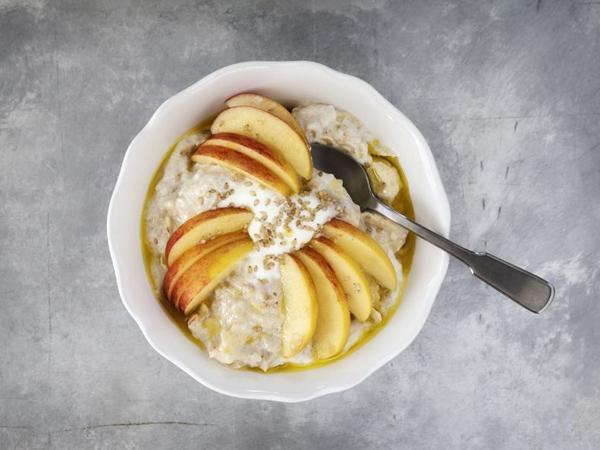 Le porridge Pomme-Banane
