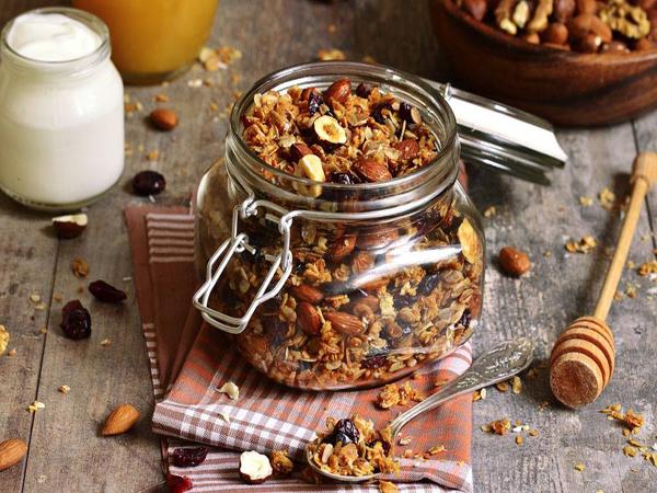 Granola sain et sans gluten