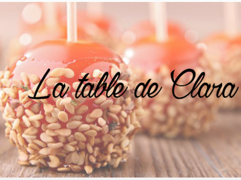 "Interview de Sylvie du blog ""La table de Clara"""