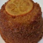Mini cake aux oranges caramélisées