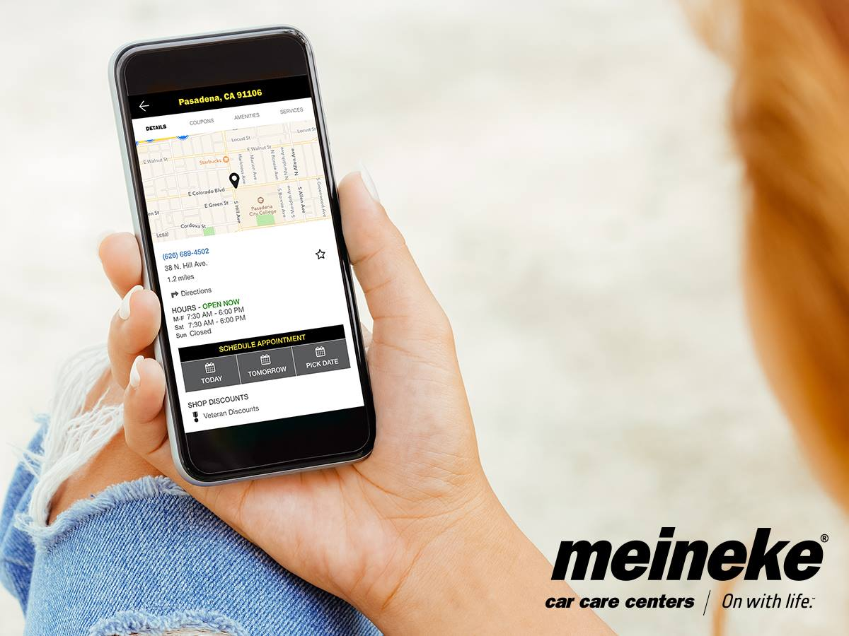 Replace A Timing Belt Replacement Avoids Costly Repairs 1996 Ford F 150 Alternator Wiring Diagram New Meineke App Puts Auto Maintenance In The Palm Of Your Hand