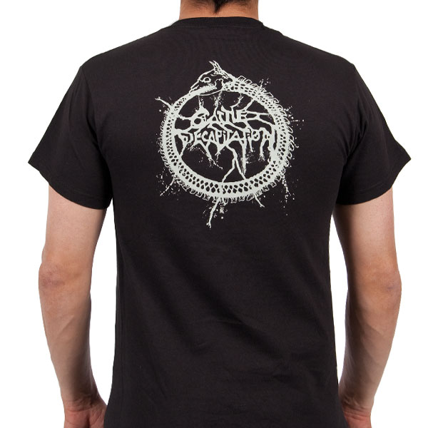 Cattle Decapitation Quot Saw Blade Quot T Shirt Metal Blade Records
