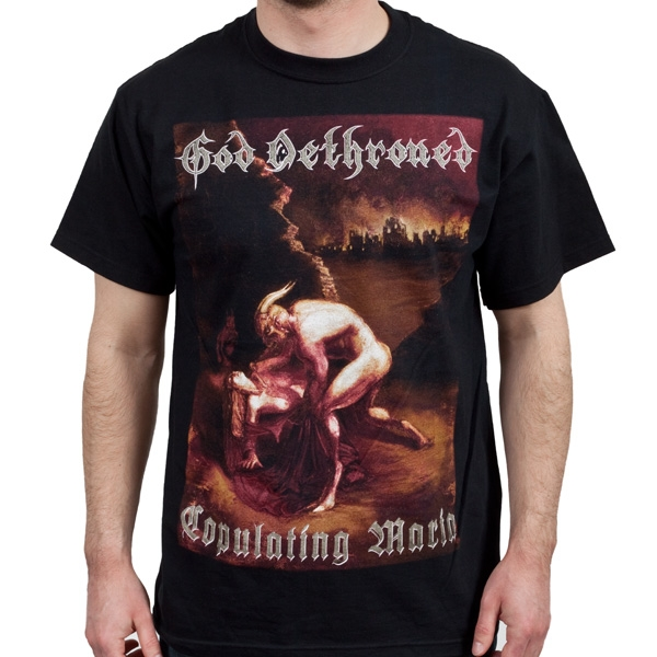 God Dethroned Quot Copulating Maria Quot T Shirt Metal Blade Records