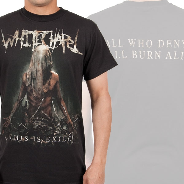 Whitechapel Quot This Is Exile Quot T Shirt Metal Blade Records