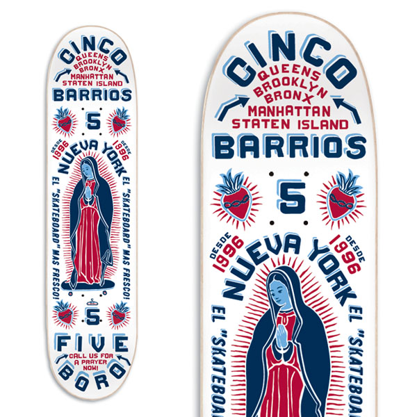Cinco Barrios White