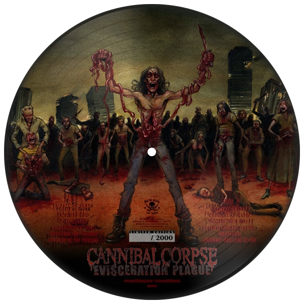 Cannibal Corpse Quot Evisceration Plague Picture Disc
