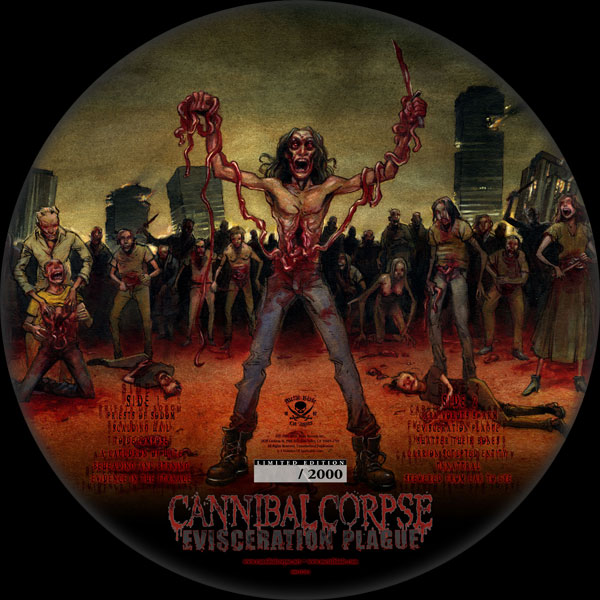 Cannibal Corpse Quot Evisceration Plague Picture Disc