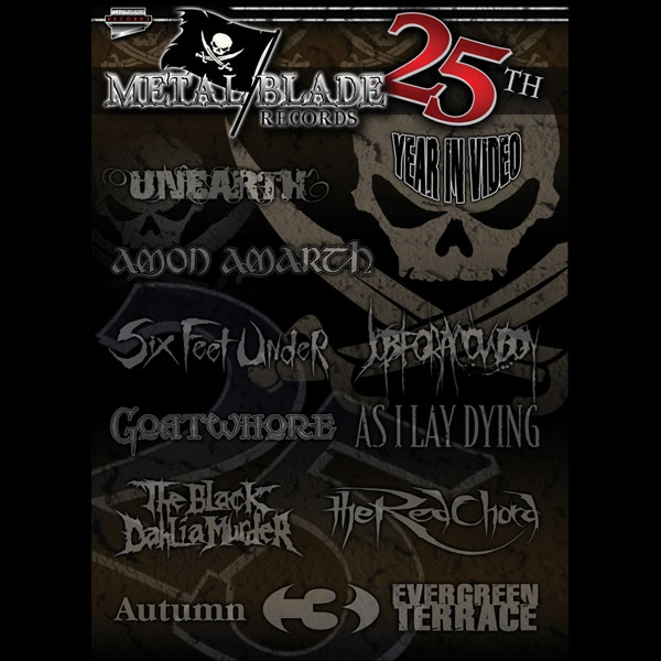 Metal Blade Records 25th Year In Videos