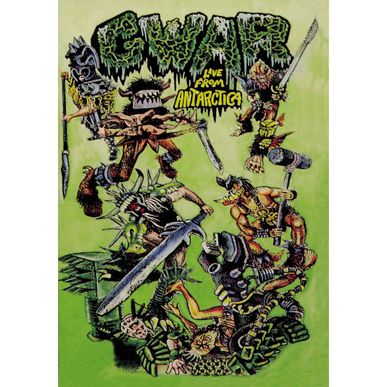"Gwar ""Live From Antartica"" DVD - Metal Blade Records"