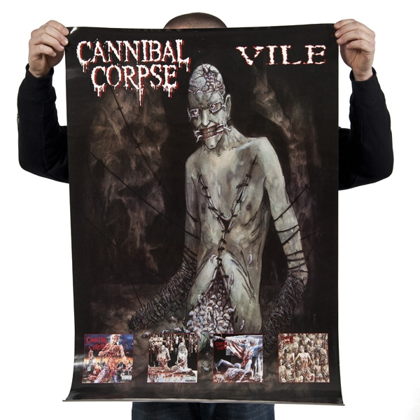 "Cannibal Corpse ""Vile"" Posters - Metal Blade Records