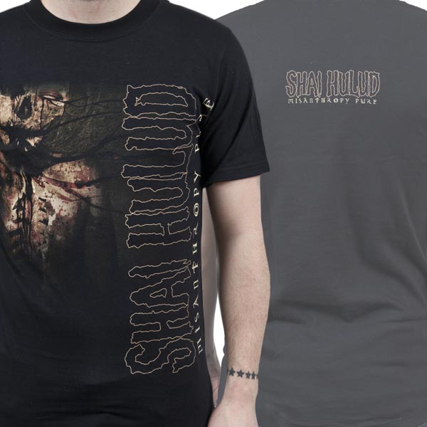 Shai Hulud Quot Misanthropy Pure Quot T Shirt Metal Blade Records