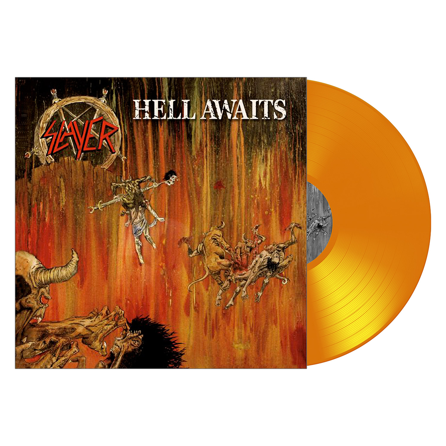 Slayer Quot Hell Awaits Quot 12 Quot Metal Blade Records