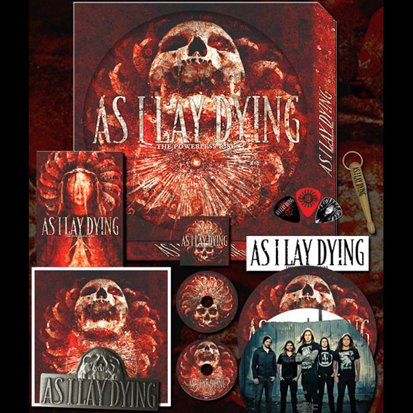 As I Lay Dying Quot The Powerless Rise Deluxe Fan Box Set