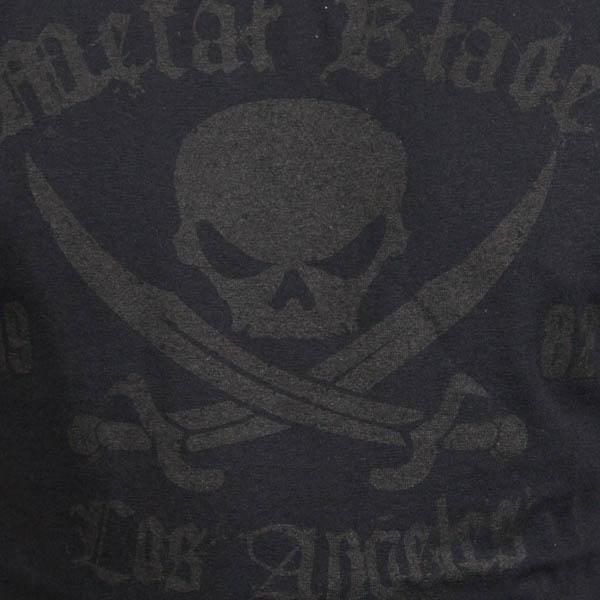 Pirate Logo Black on Black