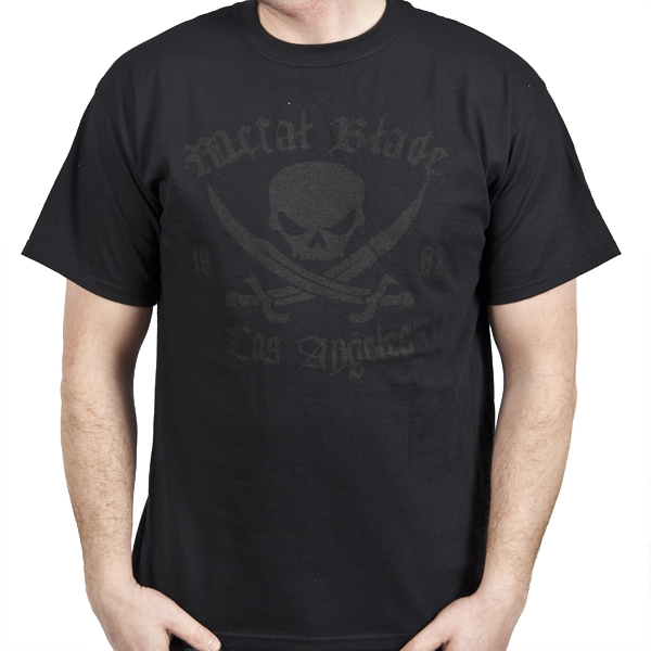 Pirate Logo Black on Black