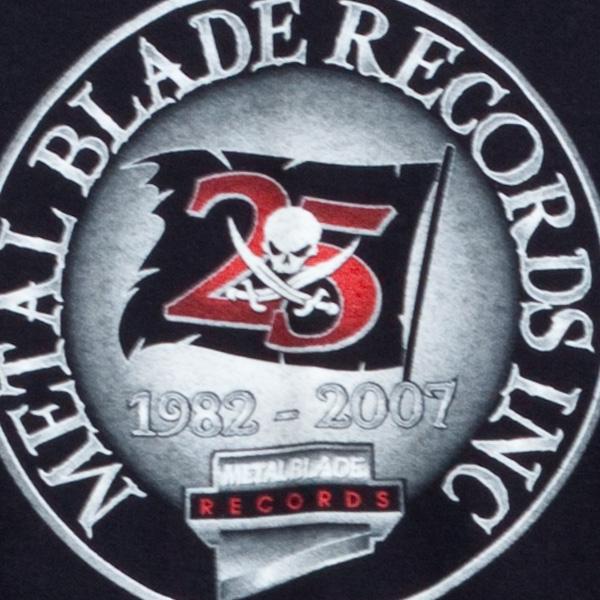 Metal Blade 25th Anniv. Crest