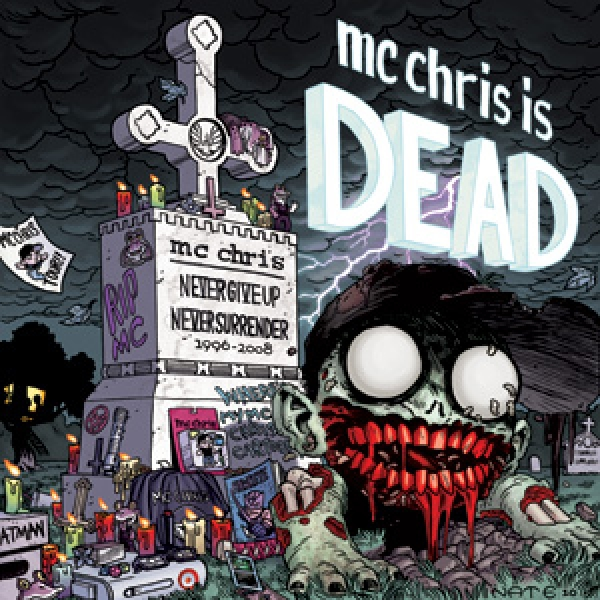 mc chris is dead LP (new art)