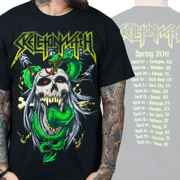 Skeletonwitch Tour Shirt