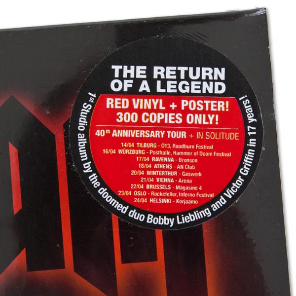 Pentagram Quot Last Rites Import Red Quot 12 Quot Metal Blade