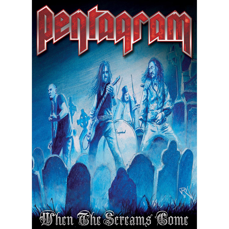 Pentagram Quot When The Screams Come Quot Dvd Metal Blade Records