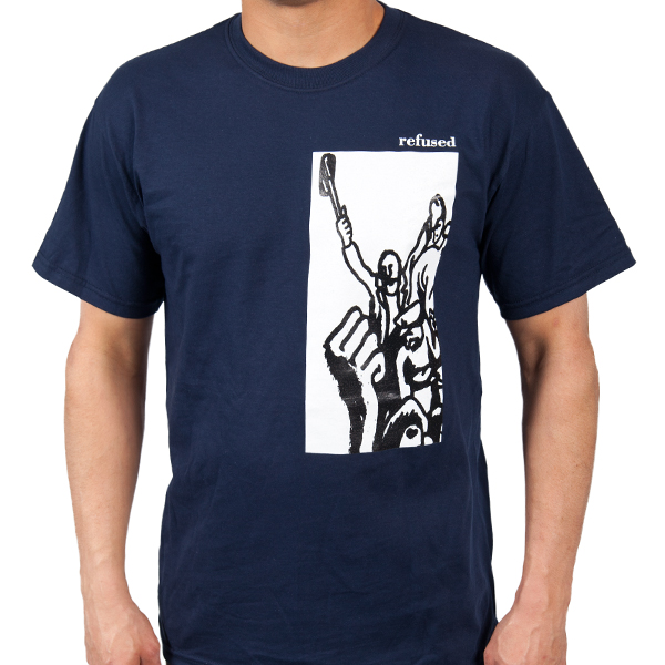 Refused Quot Revolution Quot T Shirt Indiemerchstore