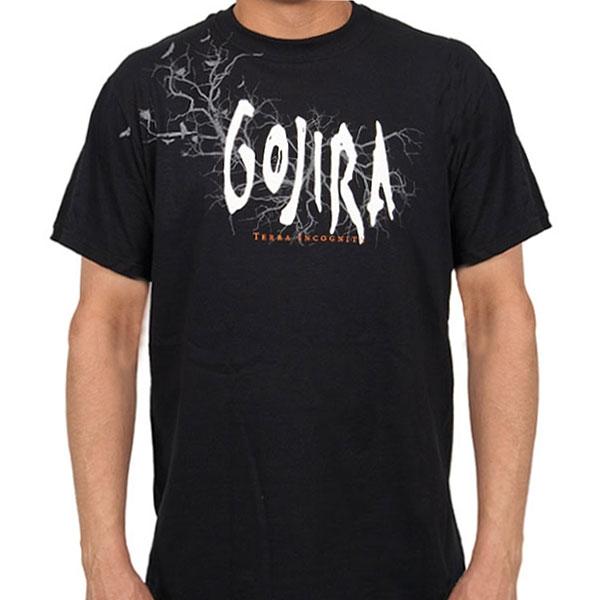 Gojira Quot Terra Incognita Quot T Shirt Indiemerchstore